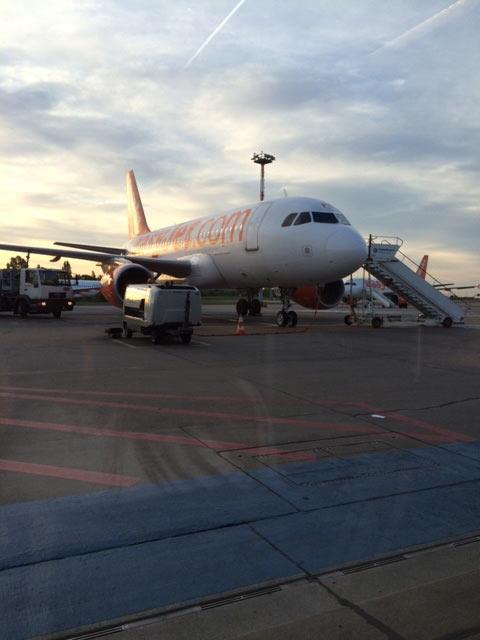 Flieger am Sch�nefelder Flughafen