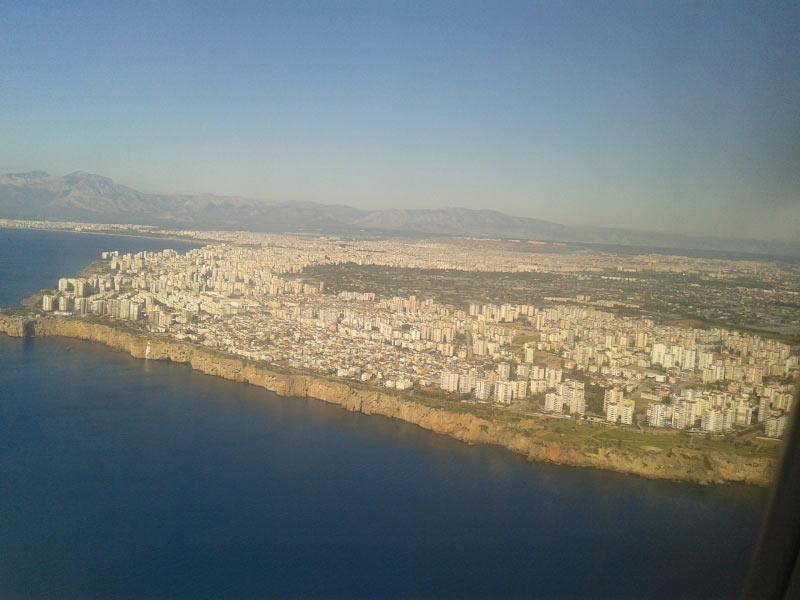Landeanflug Antalya