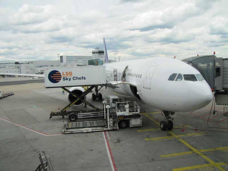 Machine beim Hinflug nach Varadero (DE 6188)