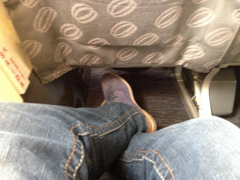 Beinfreiheit XL-Leg Sitze