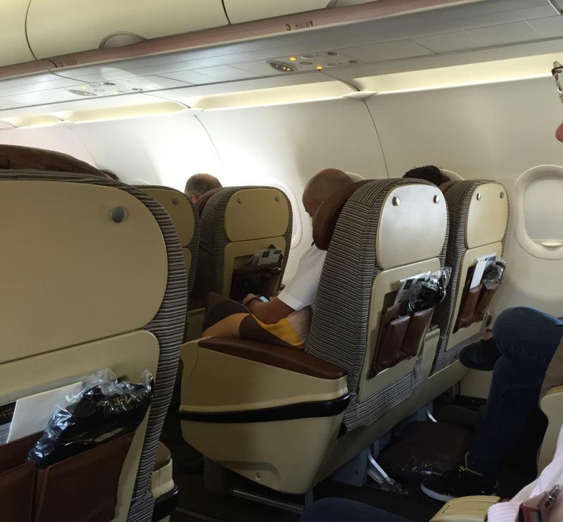 Business Class Abu Dhabi - Seychellen