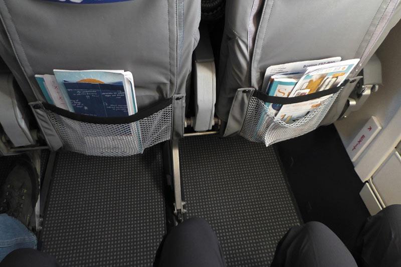 XL- Sitze Beinfreiheit