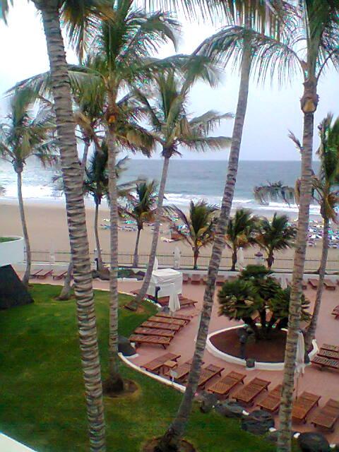 vom Zimmer des Suite Hotels Fariones in Puerto del Carmen