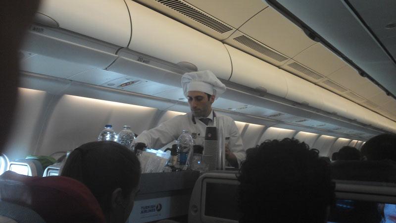 Koch an Bord :-))