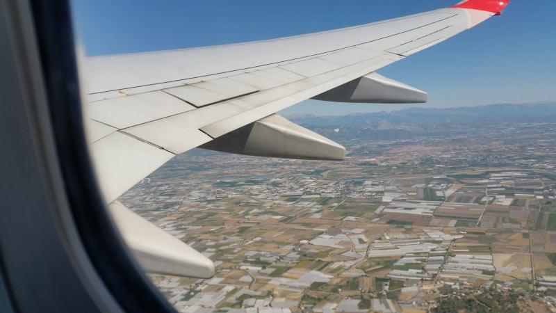 Beim Start von Antalya
