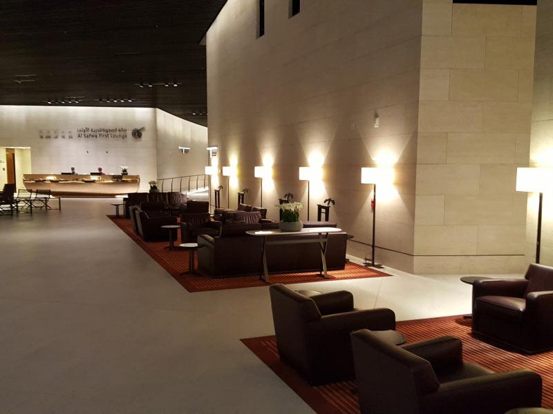 First Lougne in Doha.. Kleiner Ausschnitt