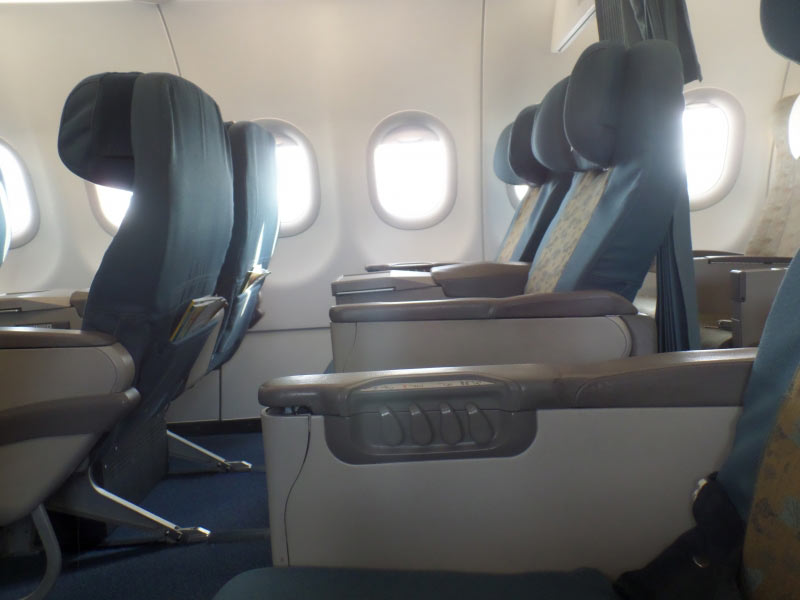 Business Class im Airbus A 321