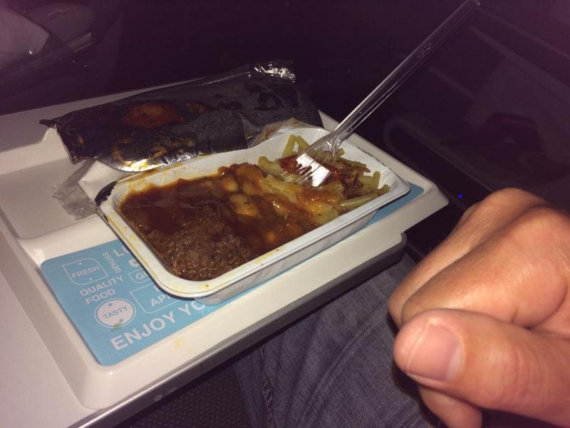 Essen bei Eirowings im BestClass Tarif