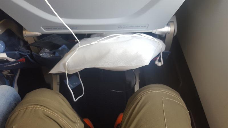 Platzangebot in der Comfort Plus Klasse -ich bin 181 cm groß