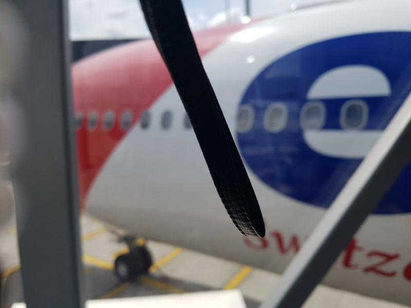 Die Maschine vor dem Flug
