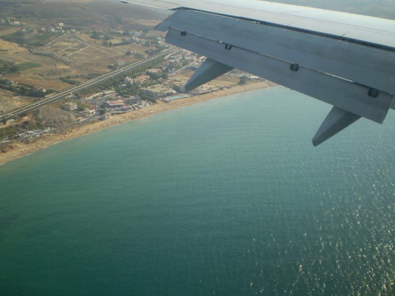 P�nktlicher Landeanflug