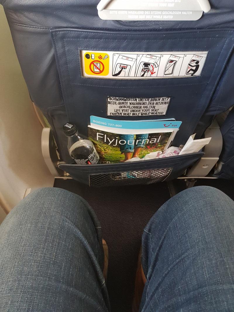 Gen�gend Beinfreiheit in Reihe 14 (XL-Seat)