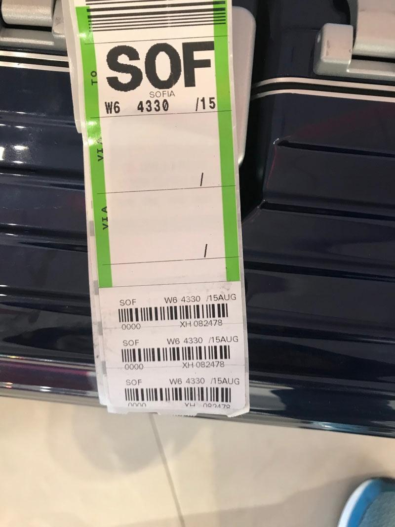 Kaputter Koffer
