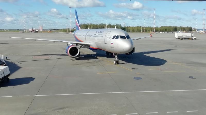 Ein A320 der Aeroflot.