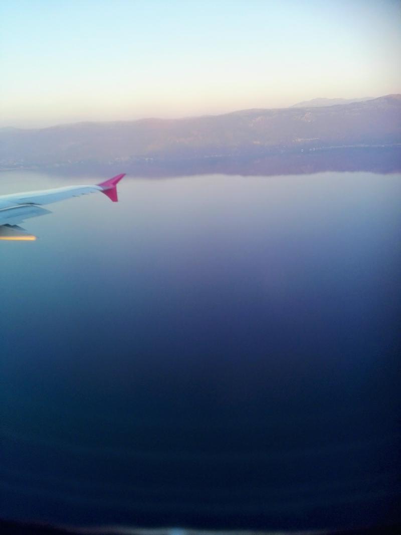 �ber dem Ohridsee
