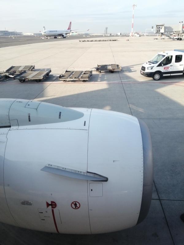 Abflug in Istanbul