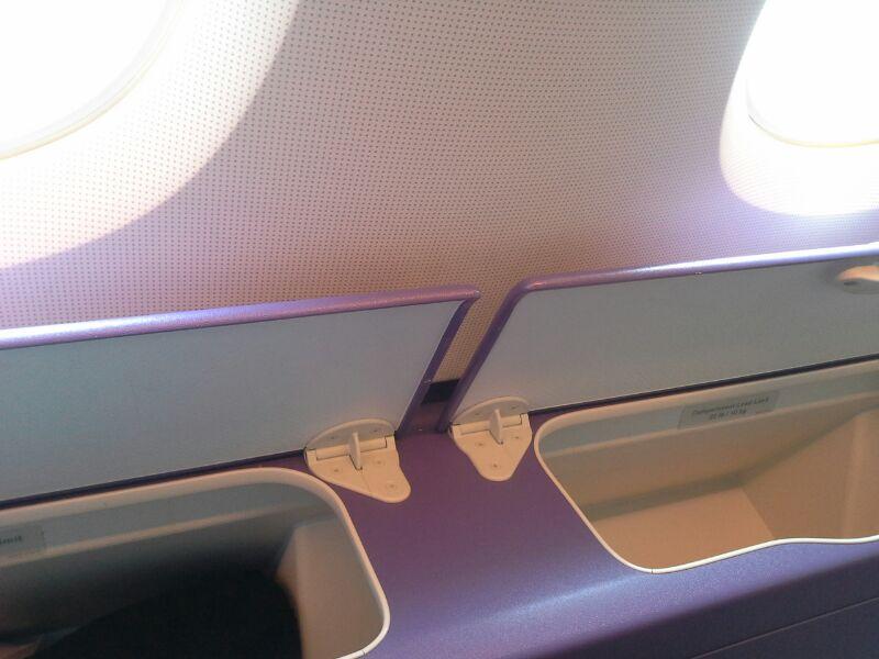 Ablagef�cher neben dem Sitz