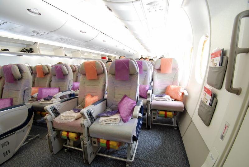 Mega Sitzabstand auf 68A | Bewertung Emirates Flüge buchen