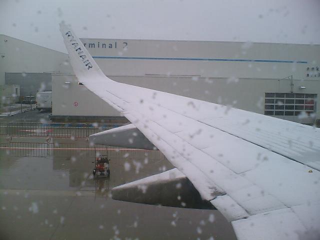Ryanair fliegt bei fast jedem Wetter! :-)