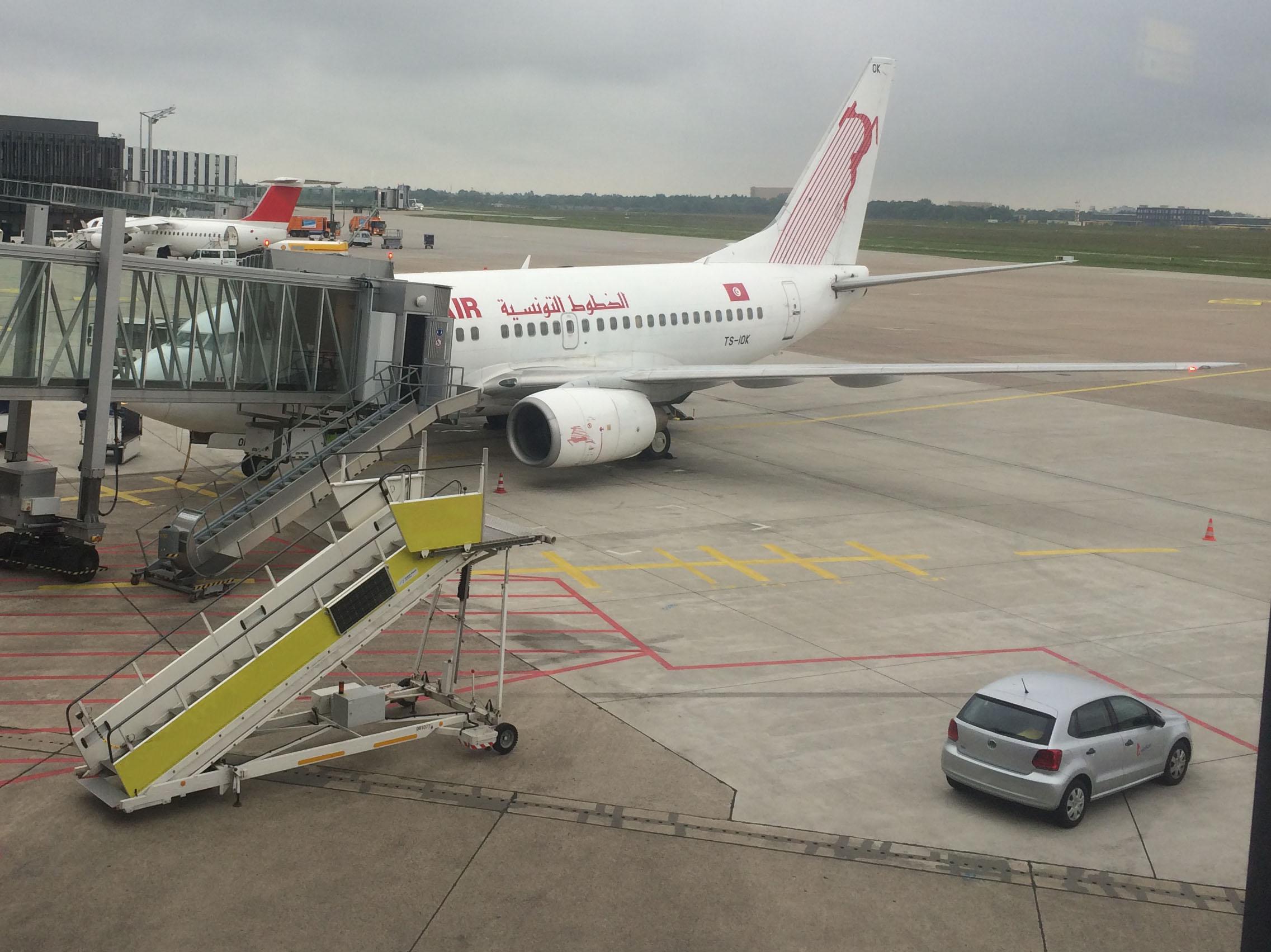 Das Flugzeug von au�en. Heile. Auch von Innen ^^