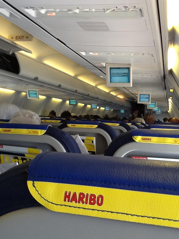Der HARIBO-Flieger