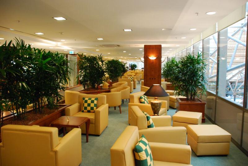Neue Emirates Lounge in Hamburg