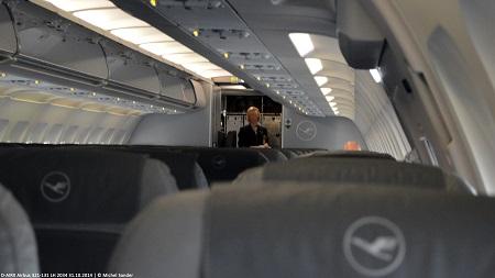 Kabine A321-131 D-AIRX