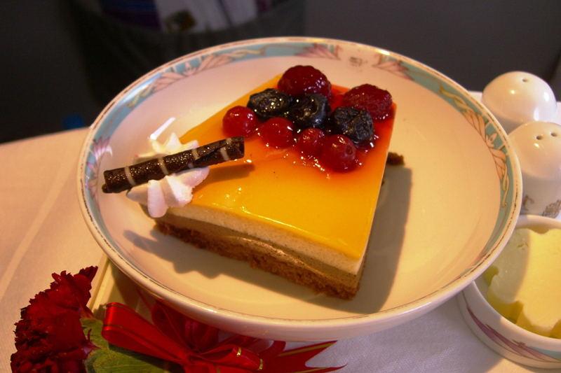 ORANGE CHOCOLATE MOUSSE CAKE